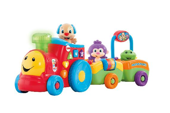 fisher price laugh & learn puppy's smart stages train